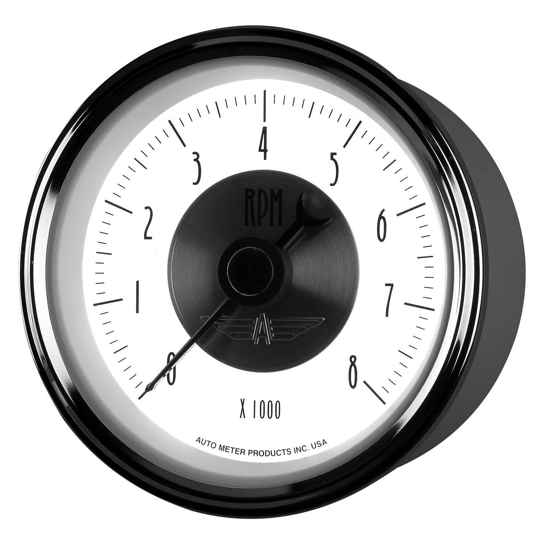 """... RPMAuto Meter® - Prestige Pearl Series 3-3/8"""" In-Dash Tachometer Gauge,  ..."""