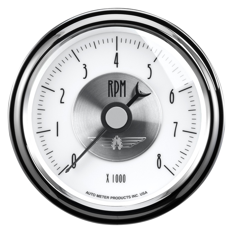 """Auto Meter® - Prestige Pearl Series 3-3/8"""" In-Dash"""