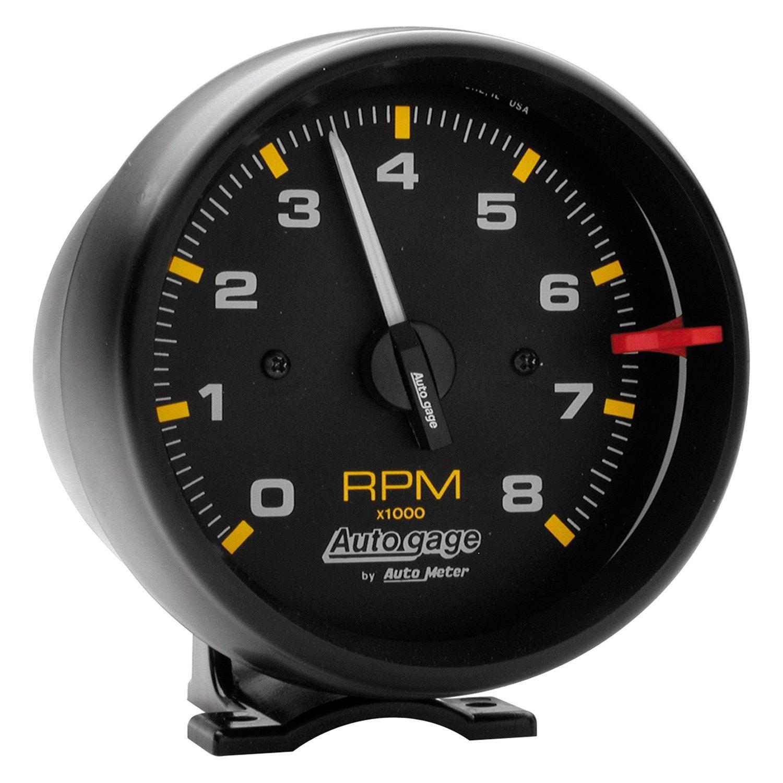 Universal Auto Gauges : Auto meter gage series quot pedestal