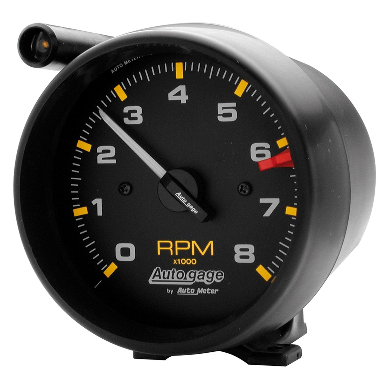 Auto Body Shops >> Auto Meter® 2309 - Auto Gage™ Tachometer Pedestal Gauge