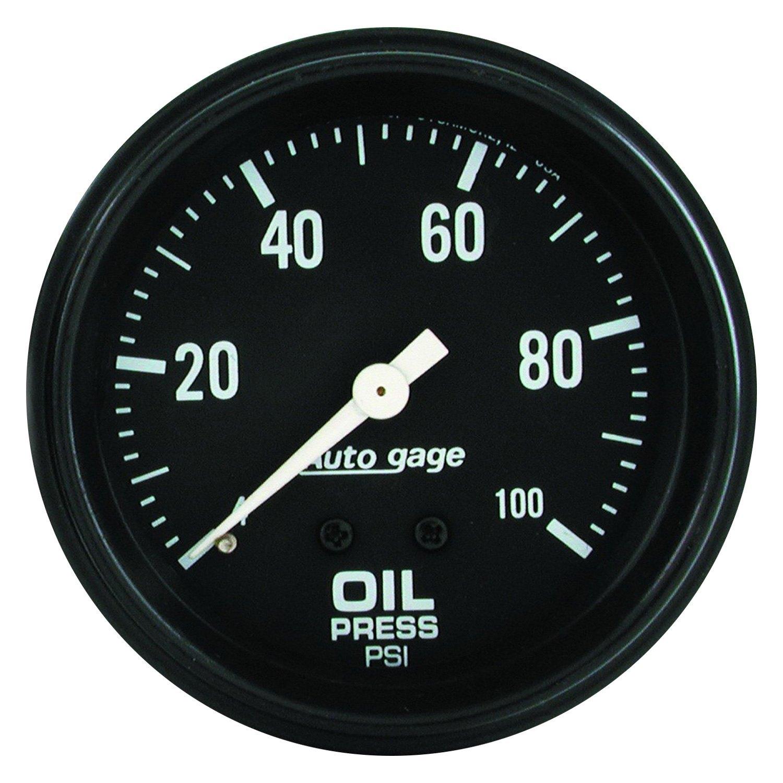 Auto Meter 174 2312 Auto Gage Series 2 5 8 Quot Oil Pressure