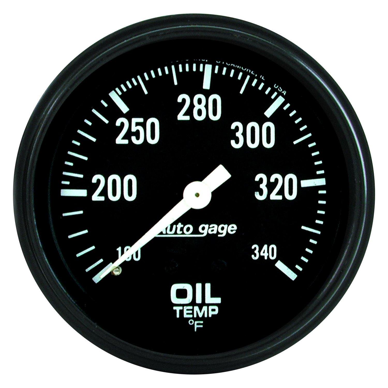 auto meter 2314 auto gage oil temperature in dash gauge. Black Bedroom Furniture Sets. Home Design Ideas