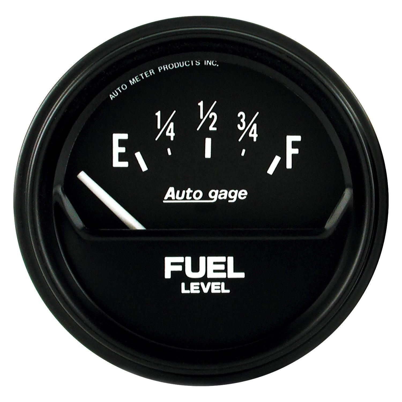 Auto Gage Gauges : Auto meter gage series quot fuel level gauge