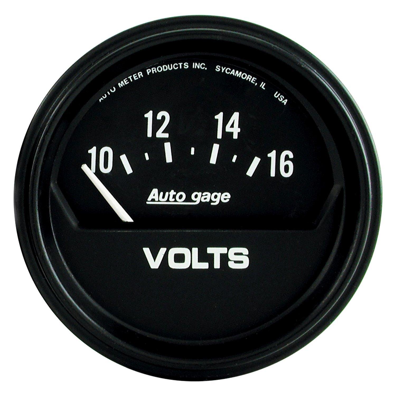 Auto Meter U00ae 2319  8 U0026quot  Voltmeter Gauge