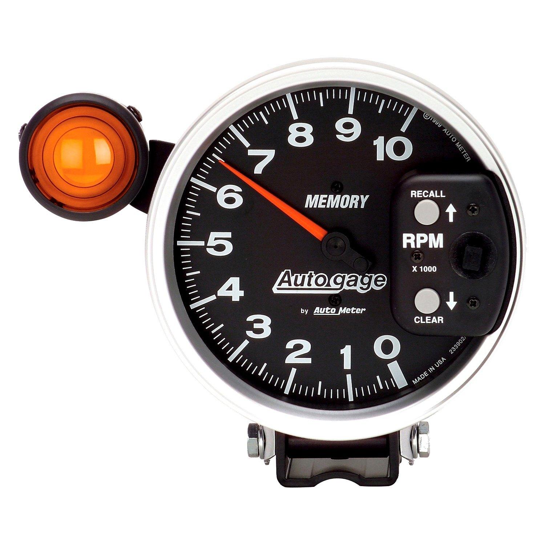Auto Gage Gauges : Auto meter  gage series quot pedestal