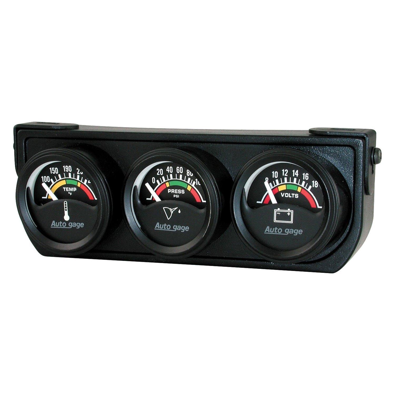 Auto Gage Gauges : Auto meter gage gauge console kit ebay