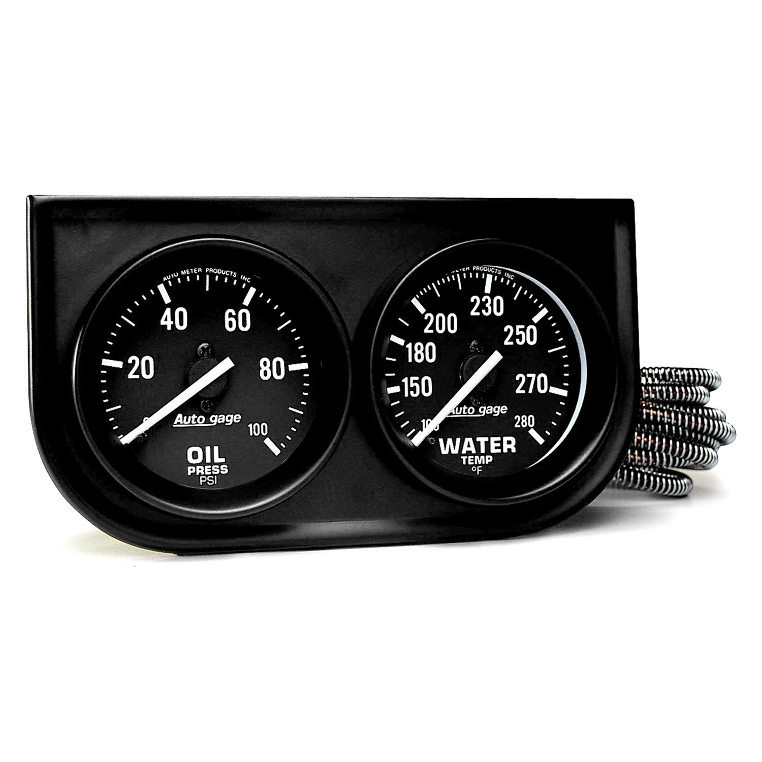 Auto Gage Gauges : Auto meter gage™ gauge console kit