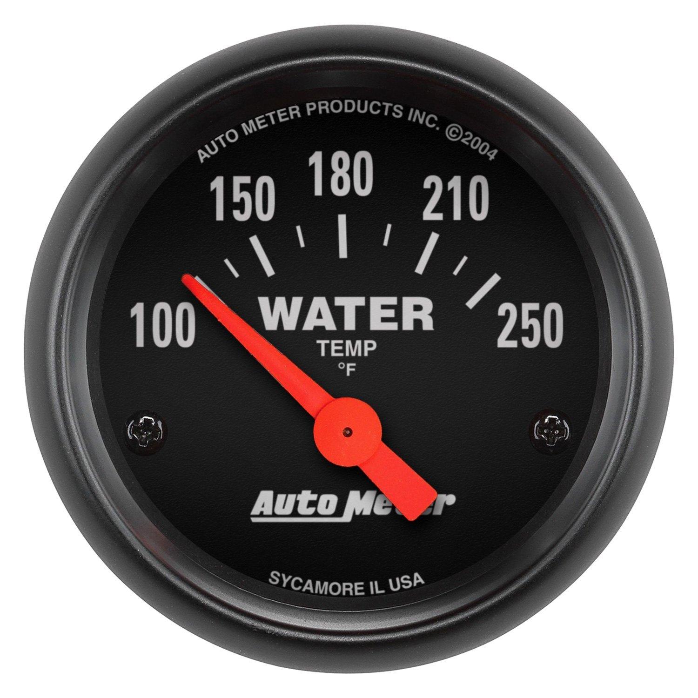 auto meter 2635 z series water temperature in dash gauge. Black Bedroom Furniture Sets. Home Design Ideas