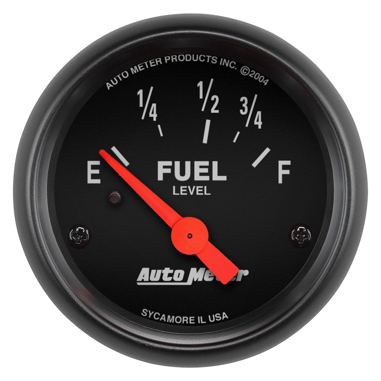 Auto Gage Gauges : Auto meter z series quot fuel level gauge