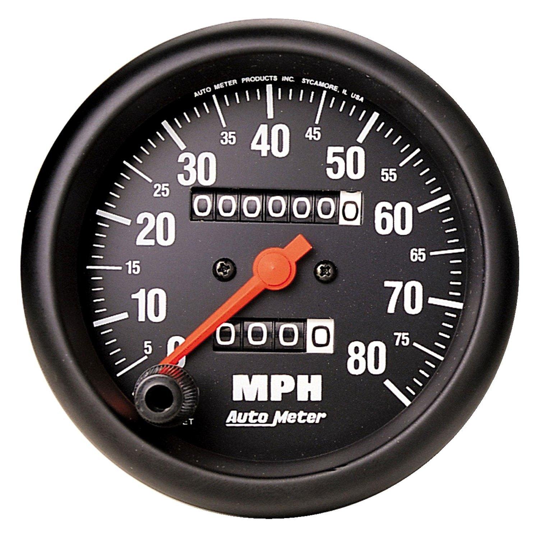 Auto Meter U00ae 2690  8 U0026quot  Speedometer Gauge  0