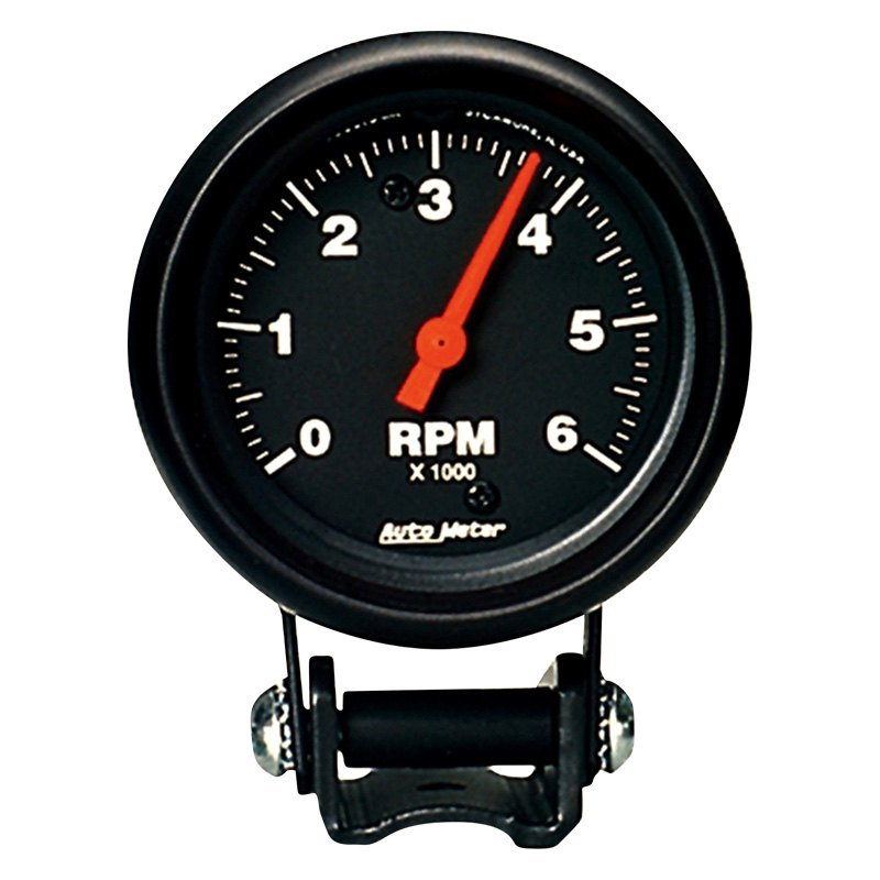 Auto Meter U00ae 2891  8 U0026quot  Pedestal Tachometer