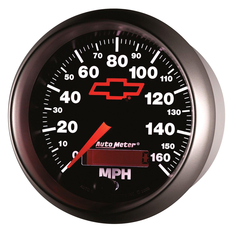 Auto Meter 3688 Sport-Comp II 3-3//8 160 mph Speedometer Electric Programmable Gauge