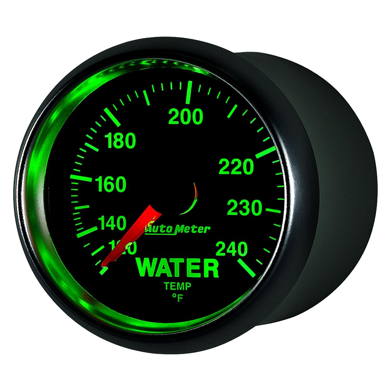 auto meter 3832 gs water temperature in dash gauge. Black Bedroom Furniture Sets. Home Design Ideas