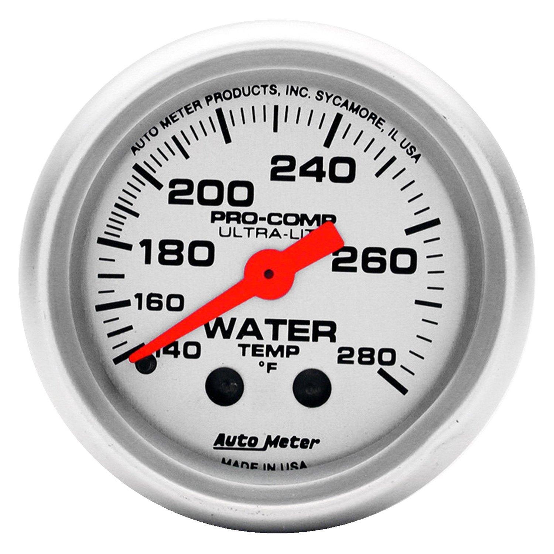 Auto Meter® 4331 - Ultra-Lite Series 2-1/16\
