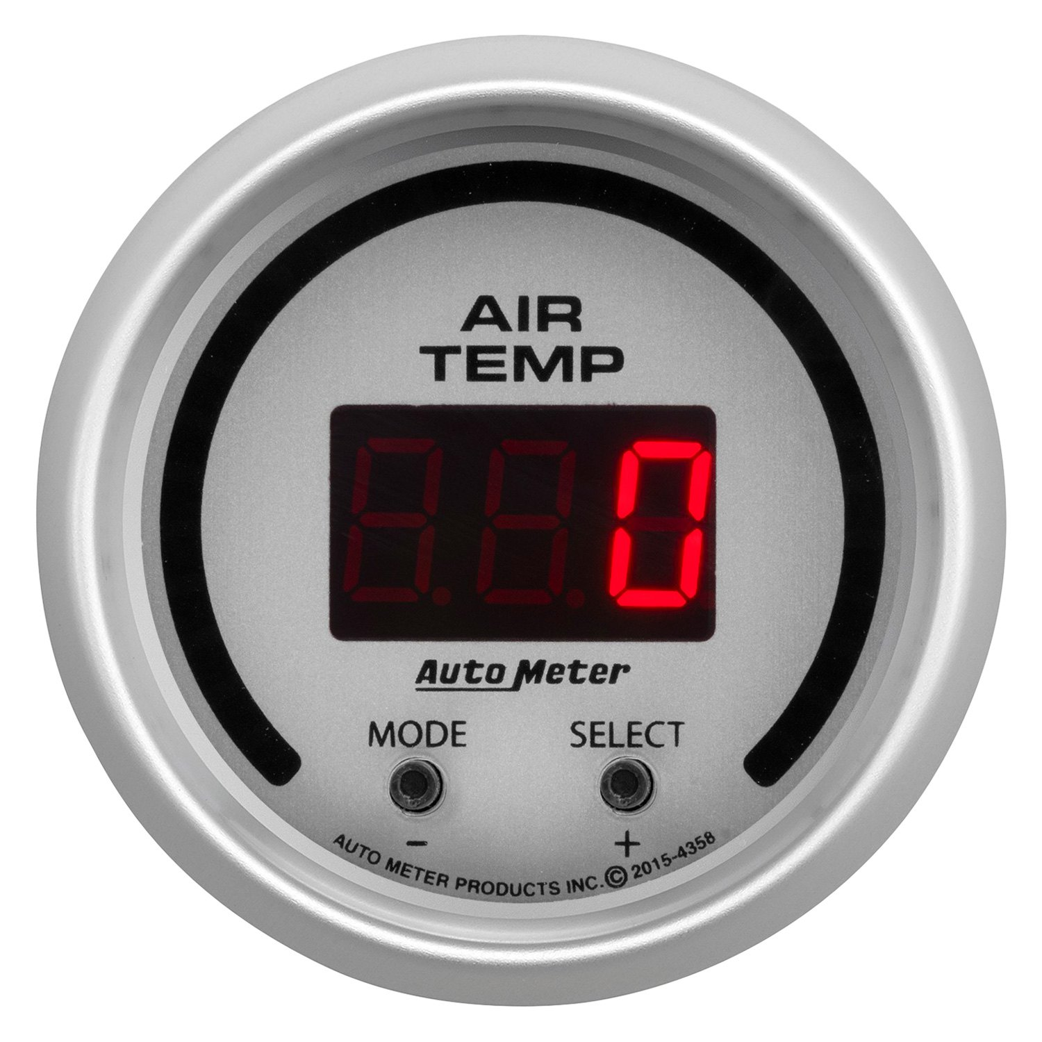 Auto Meter 4358 Ultra Lite Digital Series 2 1 16 Air Temperature Gauge 0 300 F