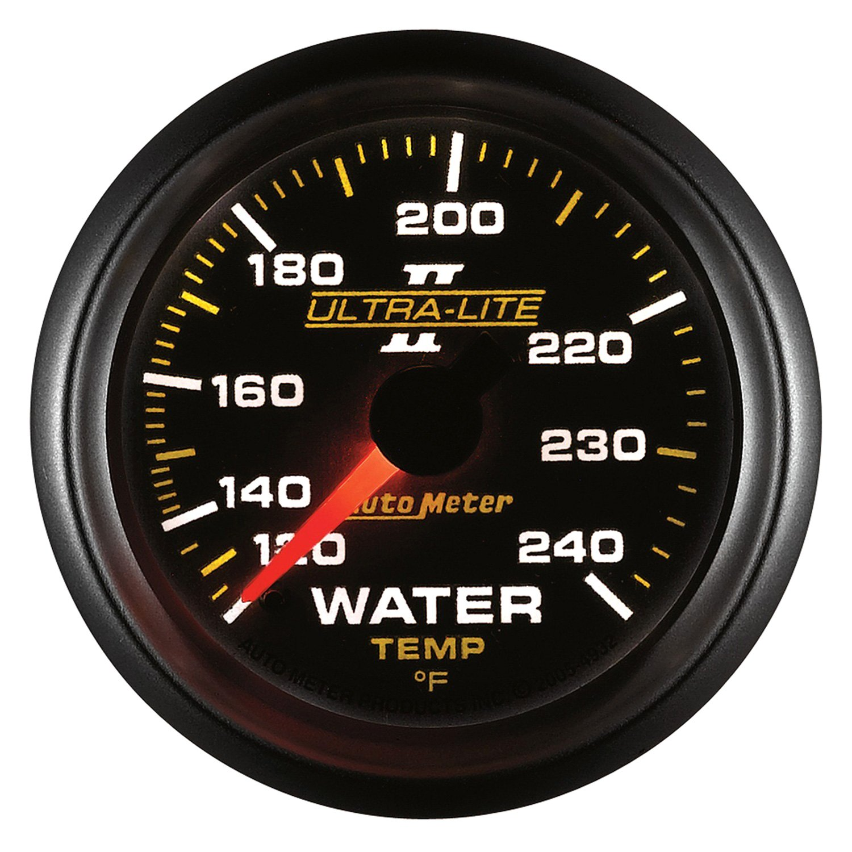 auto meter 4932 ultra lite ii water temperature in dash gauge. Black Bedroom Furniture Sets. Home Design Ideas
