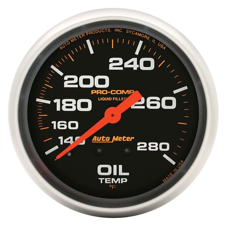 auto meter 5441 pro comp oil temperature in dash gauge. Black Bedroom Furniture Sets. Home Design Ideas