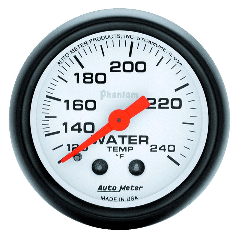 auto meter 5732 phantom water temperature in dash gauge. Black Bedroom Furniture Sets. Home Design Ideas