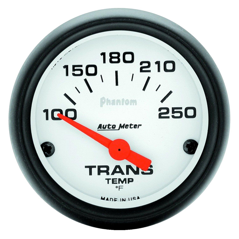 auto meter 5757 phantom transmission temperature in dash gauge. Black Bedroom Furniture Sets. Home Design Ideas