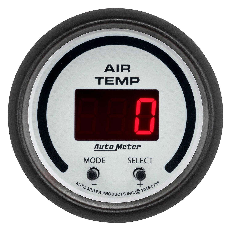 Auto Meter 5758 Phantom Air Temperature In Dash Gauge