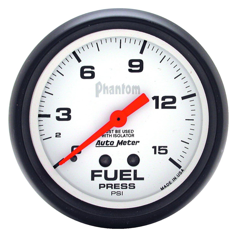 Auto meter phantom series quot fuel pressure