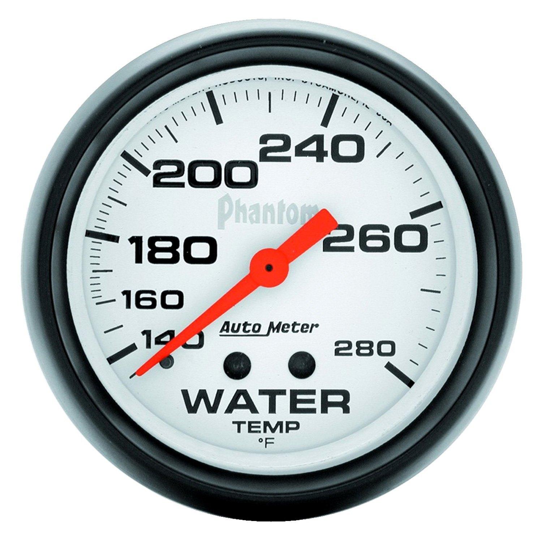 auto meter 5831 phantom water temperature in dash gauge. Black Bedroom Furniture Sets. Home Design Ideas