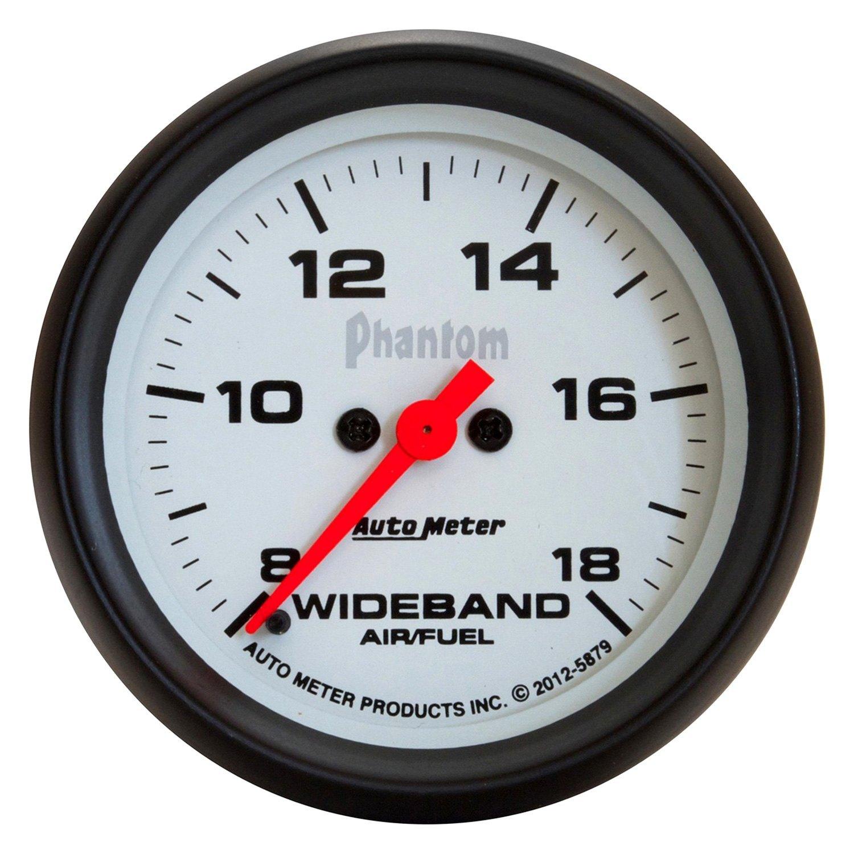 auto meter u00ae 5879  8 u0026quot  wideband air  fuel