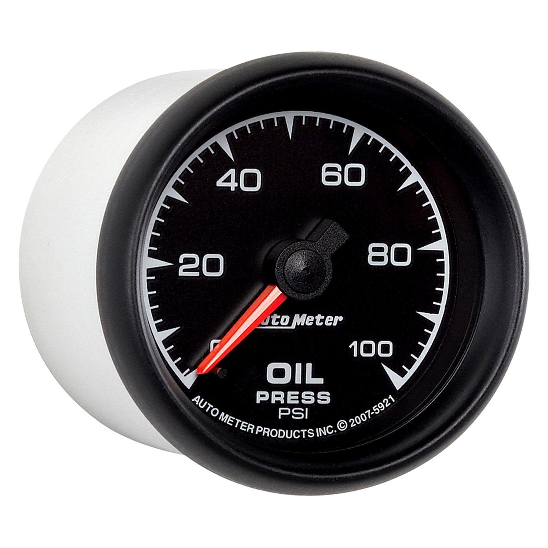 Universal Auto Gauges : Auto meter es series quot oil pressure gauge