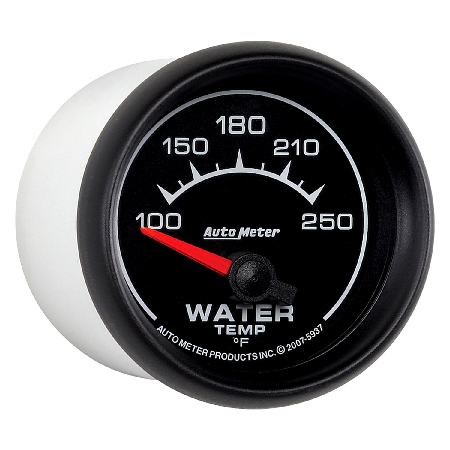 Auto Meter 5937 Es Series 2 1 16 Water Temperature Gauge 100 250 F
