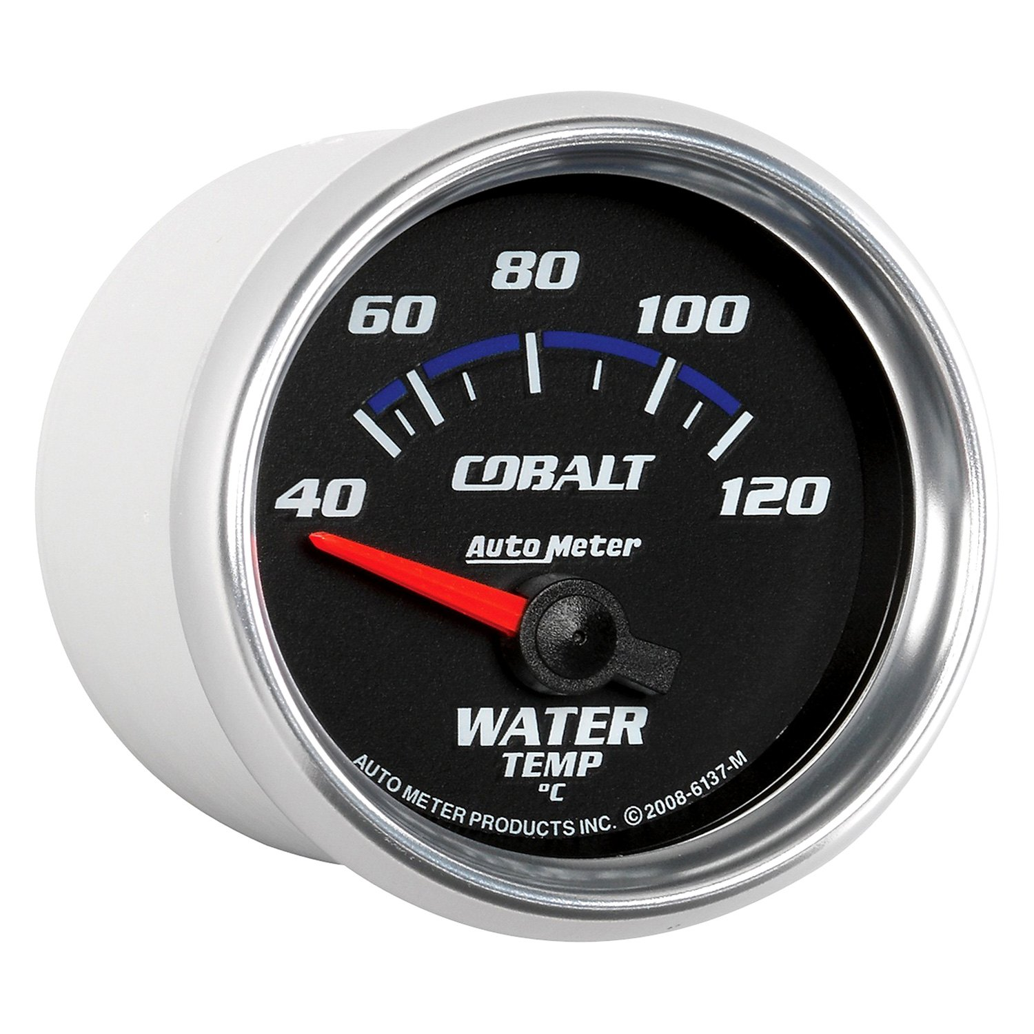 Auto Meter 6137 M Cobalt Series 2 1 16 Water Temperature Gauge 40 120 C