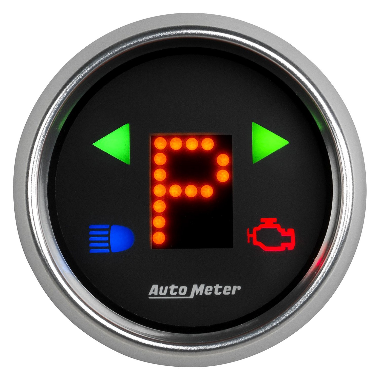Auto Gage Gauges : Auto meter gear position gauge
