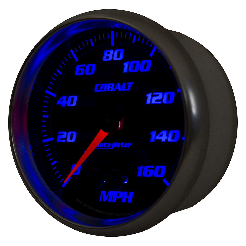 Auto Body Shops >> Auto Meter® 6281 - Cobalt™ Speedometer In-Dash Gauge