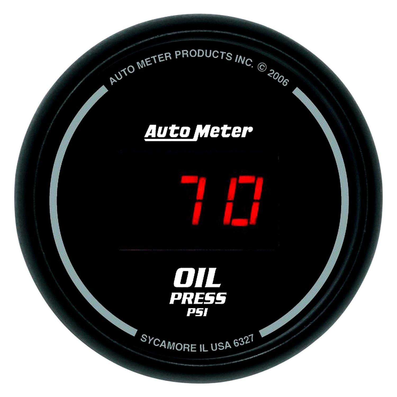 Auto Meter U00ae 6327  16 U0026quot  Oil Pressure Gauge  0