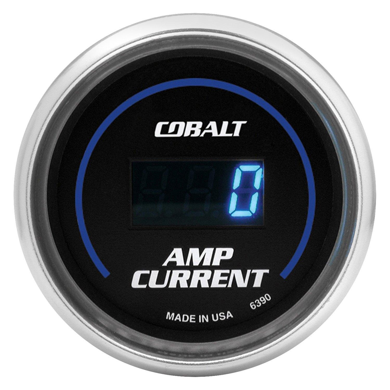 Auto Meter Ammeter : Auto meter cobalt™ ammeter in dash gauge