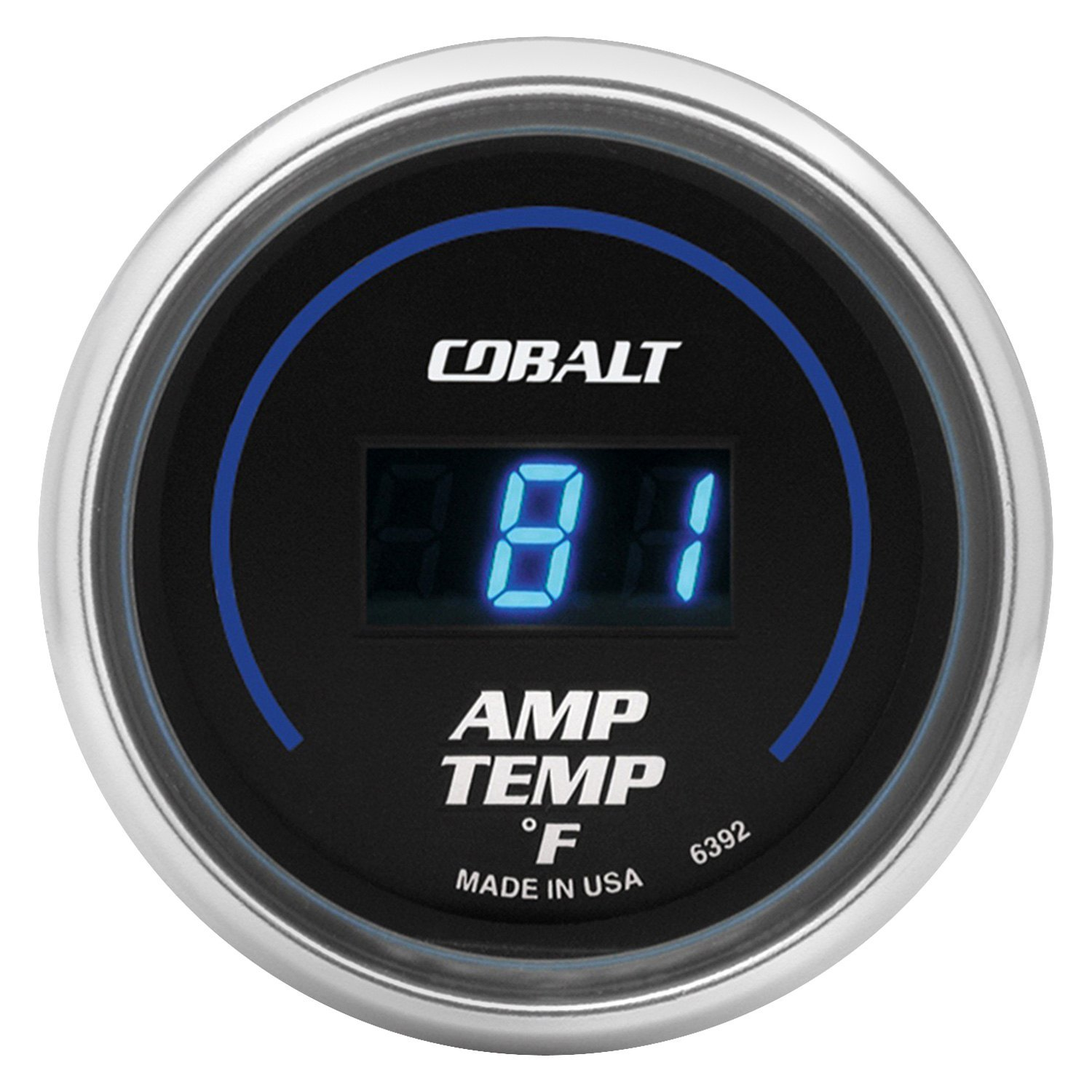 Auto Meter 6392 Cobalt Digital Series 2 1 16 Amplifier Temperature Gauge 0 250 F