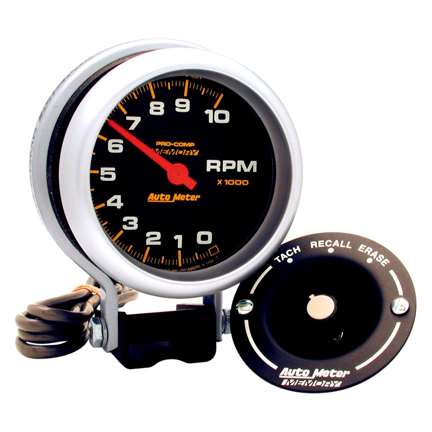 Pro Comp Auto Meter Tach Wiring Guide And Troubleshooting Of Gauge Diagram As Well Sport P U00ae 6601 Series 3 4 Quot Pedestal 2