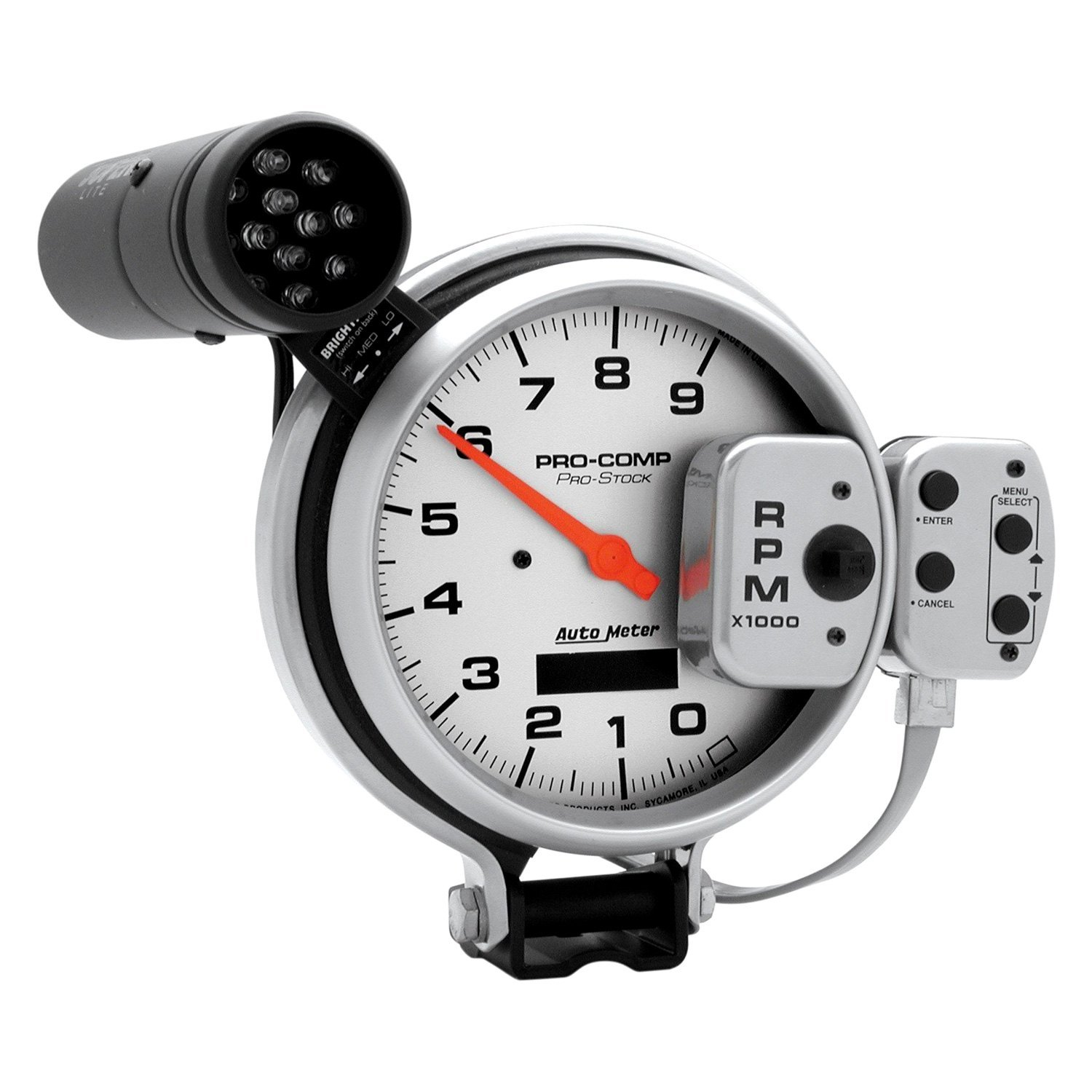 Dorable Pro Comp Auto Meter Tach Wiring Diagram Ensign - Everything ...