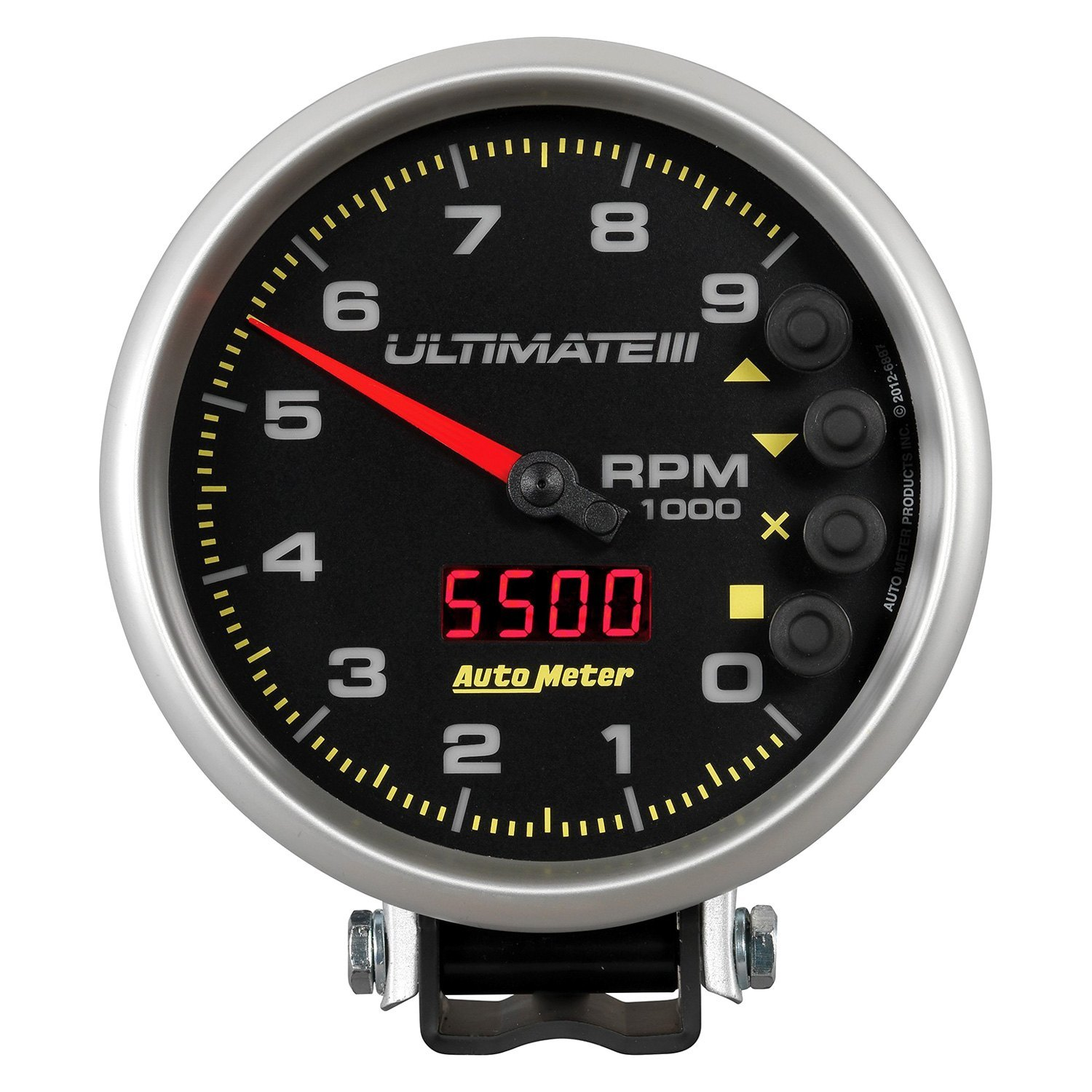 Auto Meter Sport Comp Tach Wiring Example Electrical Diagram Quick Car Tachometer Installation Instructions 5 Autos Autometer