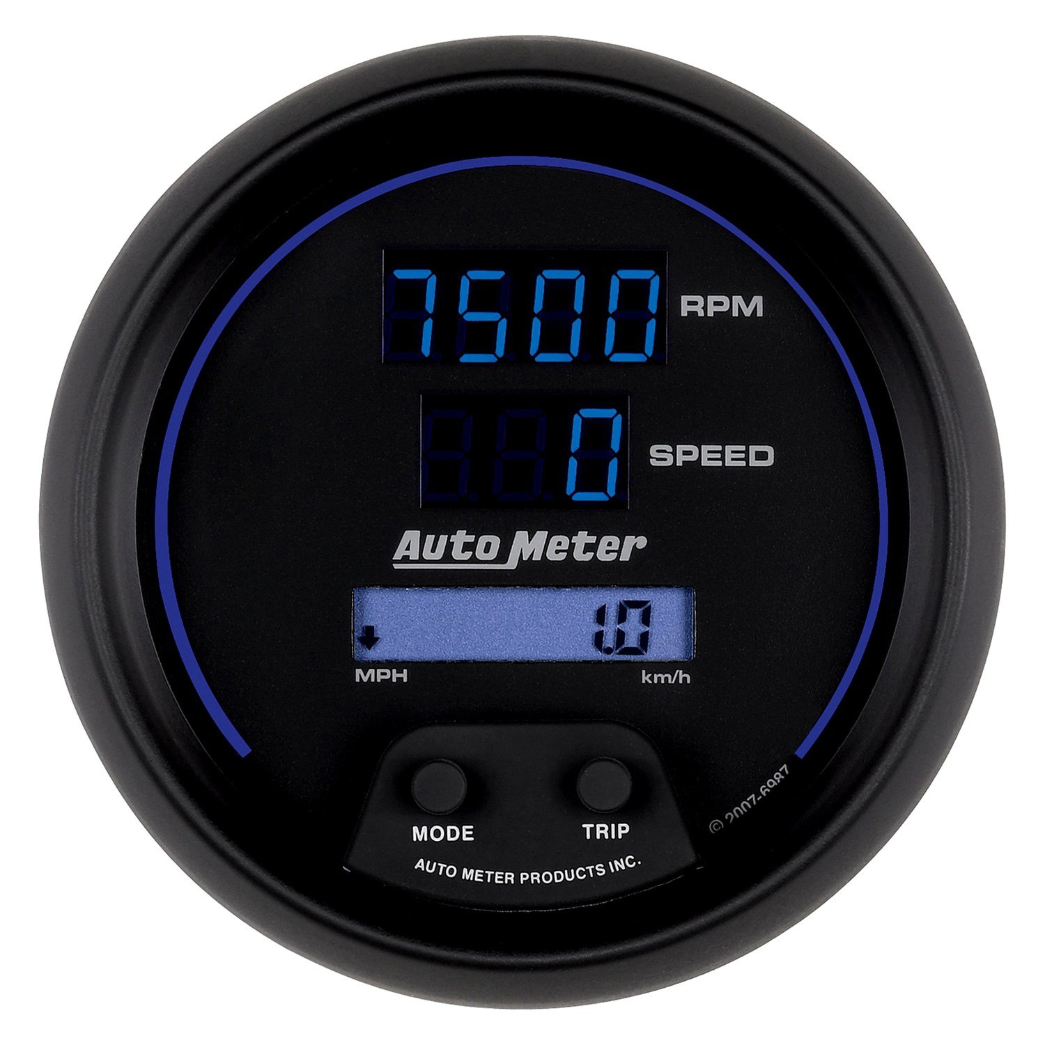 Electronic Gauges For Cars : Auto meter cobalt digital™ speedometer tachometer