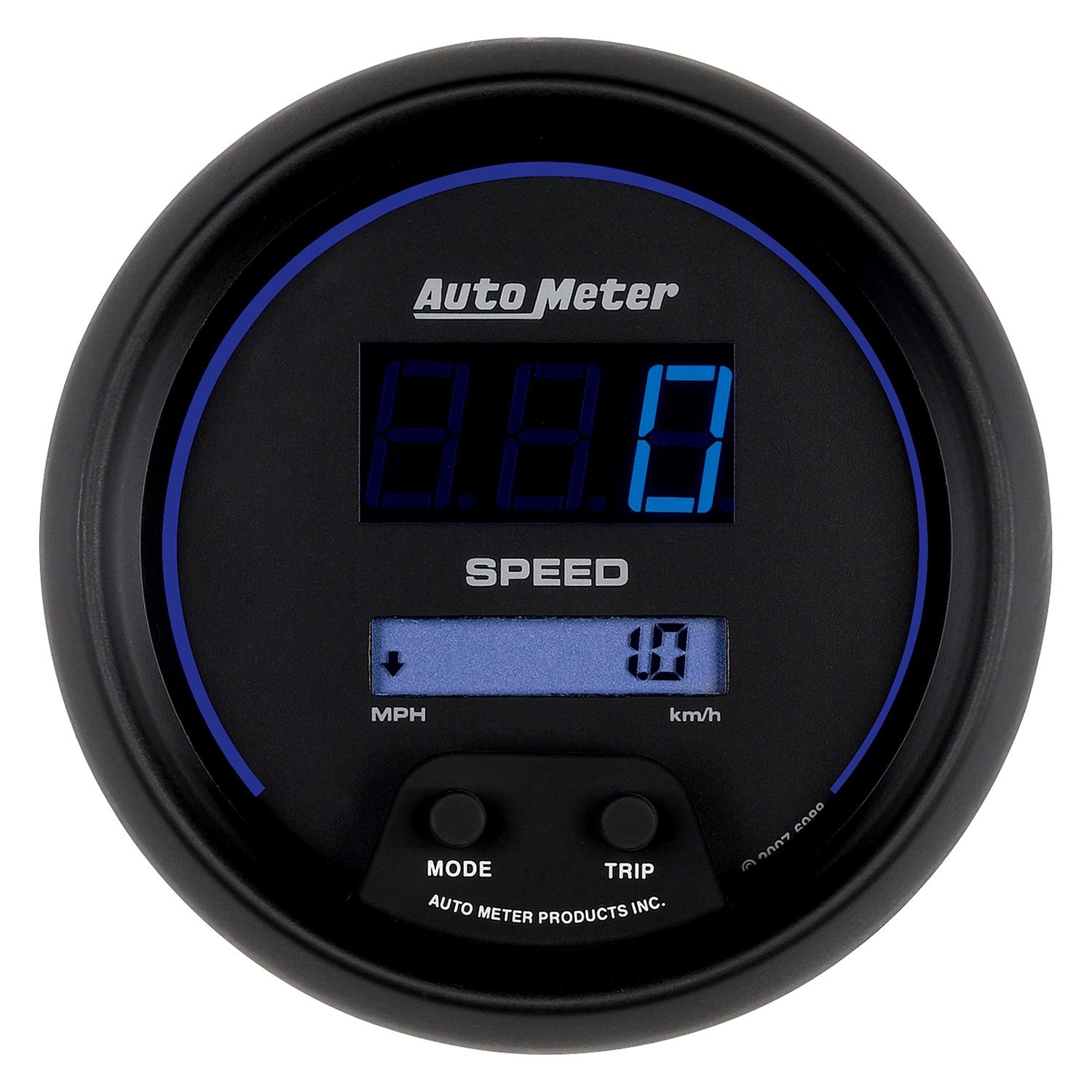 Auto Meter Electronic Speedometers : Auto meter cobalt digital™ speedometer in dash gauge