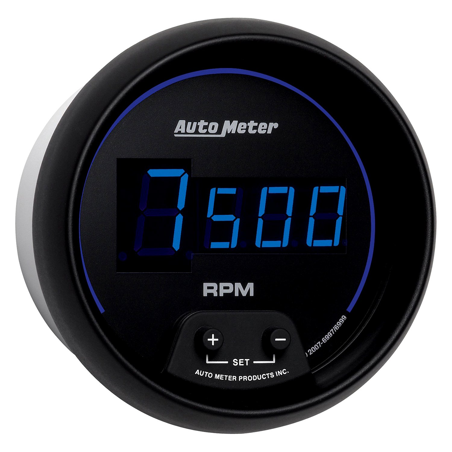 Electronic Gauges For Cars : Auto meter cobalt digital series quot in dash