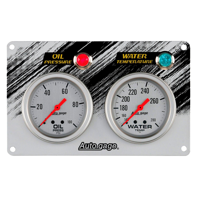 Auto Meter 174 7065 Auto Gage Series Race Gauge Panel Kit