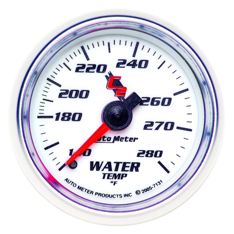 auto meter 7131 c2 water temperature in dash gauge. Black Bedroom Furniture Sets. Home Design Ideas