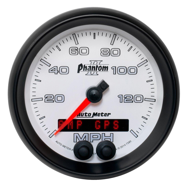 Auto Meter U00ae 7580  8 U0026quot  Speedometer