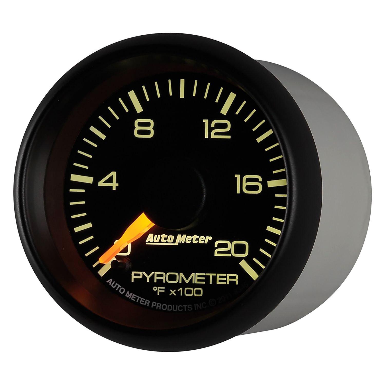 Auto Meter 8345 Gm Factory Match Series 2 1 16 Egt Pyrometer Dieseltachwiring Phantom2 Gauge Chevy And Gmc Duramax Diesel