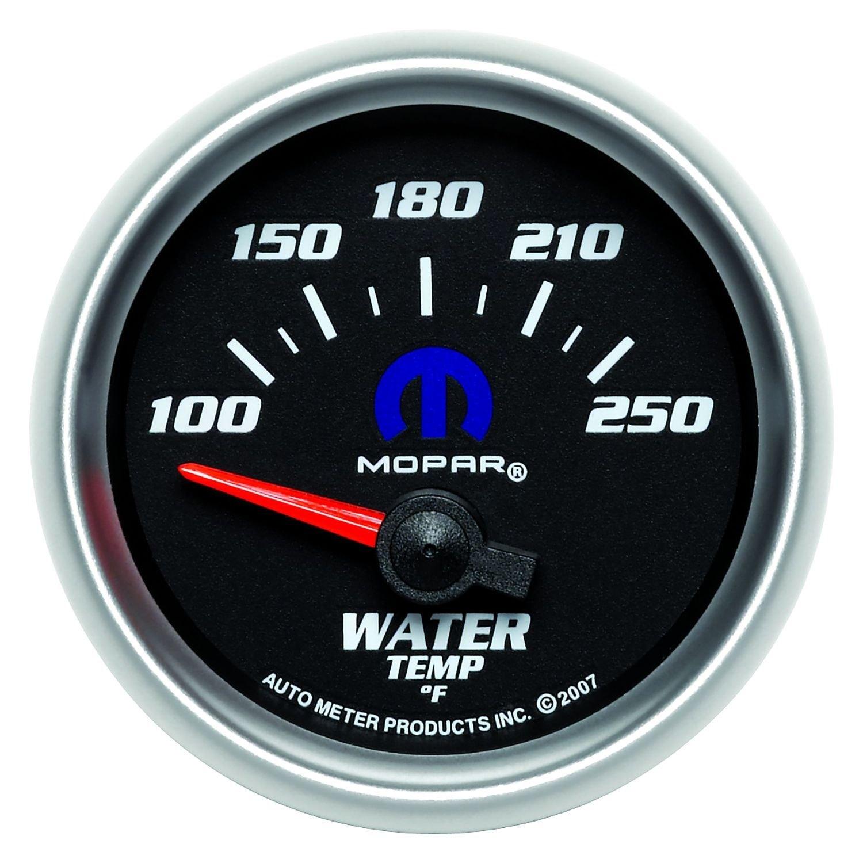 auto meter 880016 mopar water temperature in dash gauge. Black Bedroom Furniture Sets. Home Design Ideas