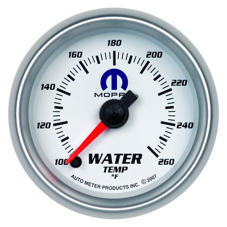 auto meter 880032 mopar water temperature in dash gauge. Black Bedroom Furniture Sets. Home Design Ideas