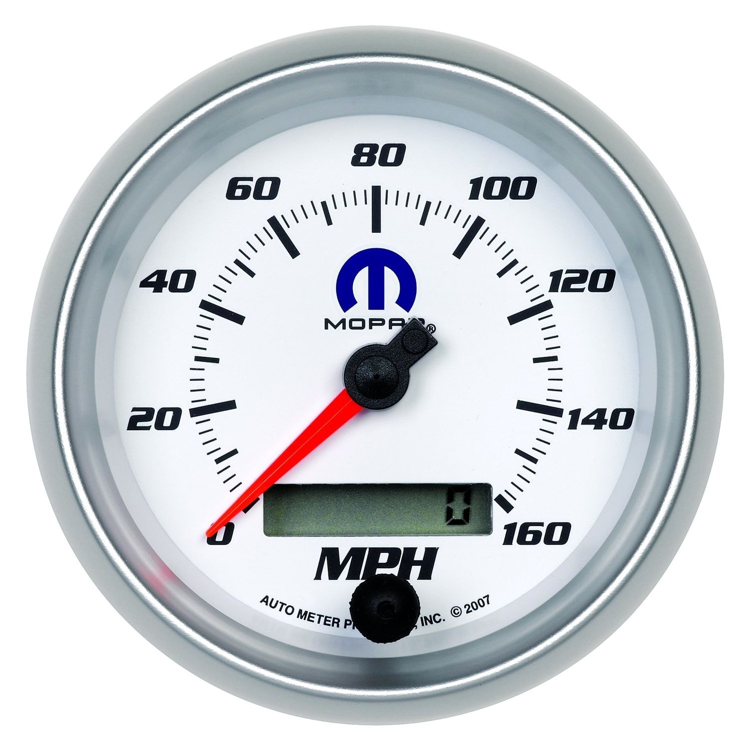 Auto Meter Electronic Speedometers : Auto meter  mopar™ speedometer in dash gauge