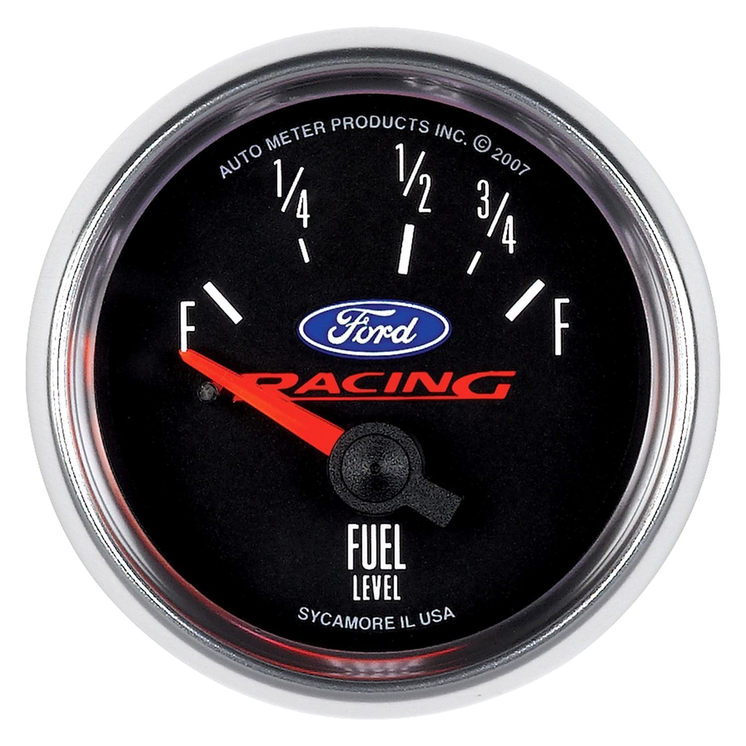 """Ford Racing Parts >> Auto Meter® 880075 - Ford Racing Series 2-1/16"""" Fuel Level ..."""