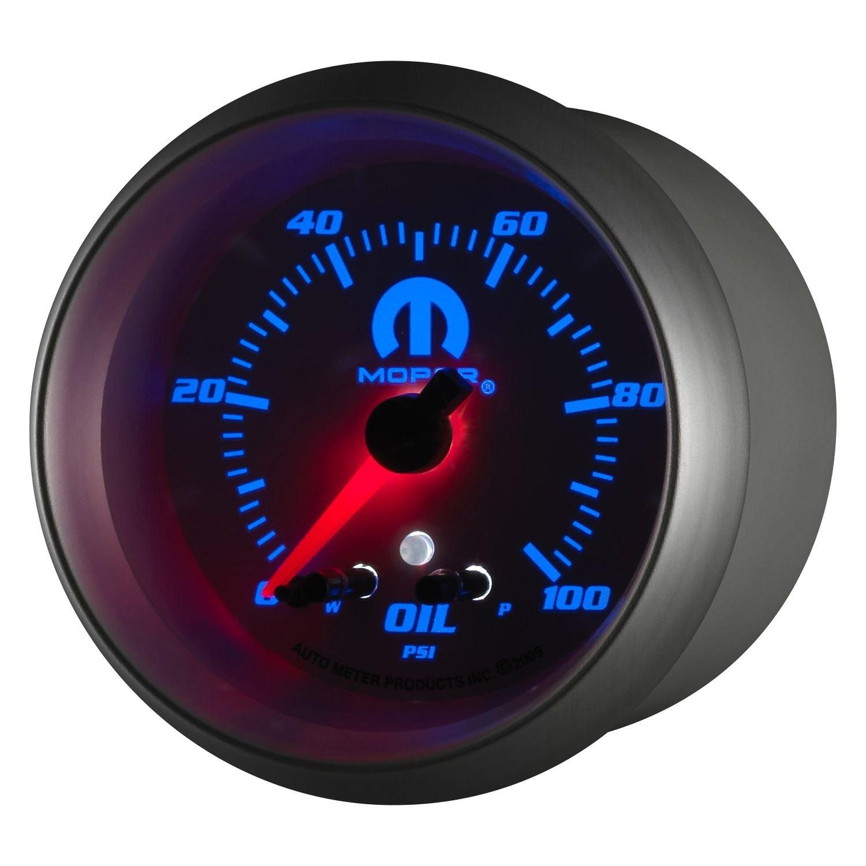 Auto Meter 174 880249 Mopar Series 2 5 8 Quot Oil Pressure